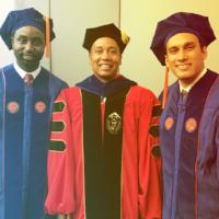 First HCC Ph.D. graduates