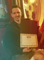 Student Wins Best Student Paper Award at ICMI