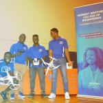 Members of the Brain-Drone Race team