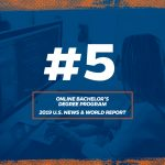 UF Online Bachelor's Degree Program Ranked No. 5