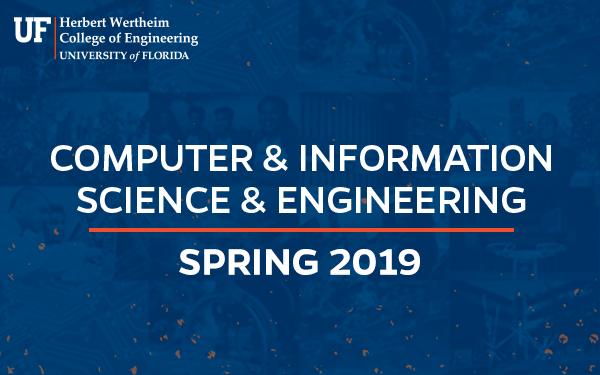 CISE Spring 2019 Newsletter