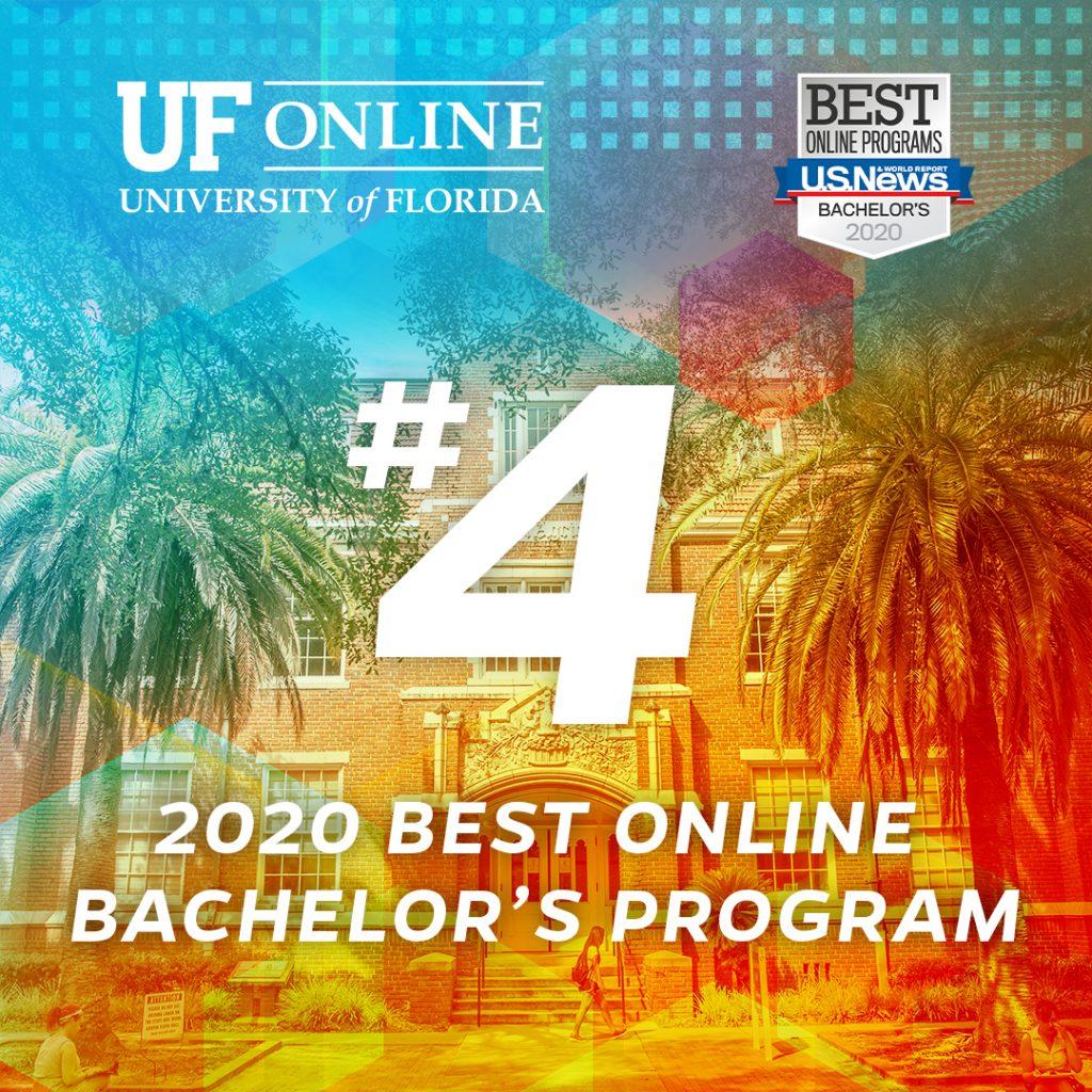 UF Online Ranked No. 4