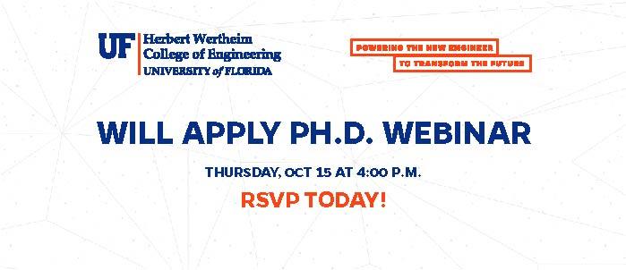 Will Apply Ph.D. Webinar