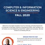 UF CISE Fall 2020 Digital Newsletter