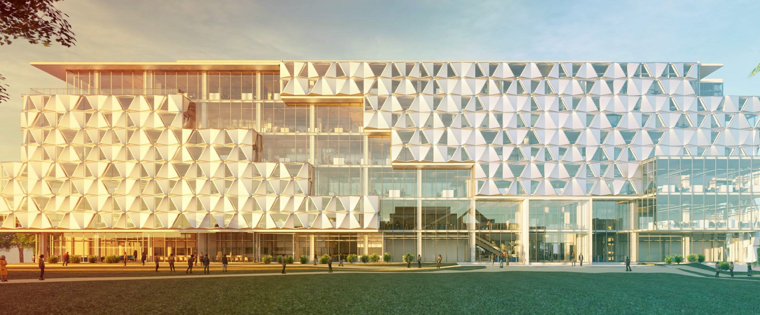 Malachowsky Hall for Data Science & Information Technology Rendering