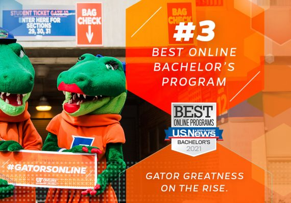 UF Online Ranks Number 3