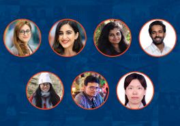 Outstanding International Student Award Winners