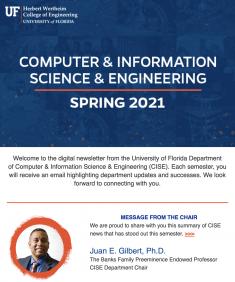 CISE Spring Newsletter, 2021