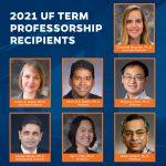 2021 Term Professorship Recipients