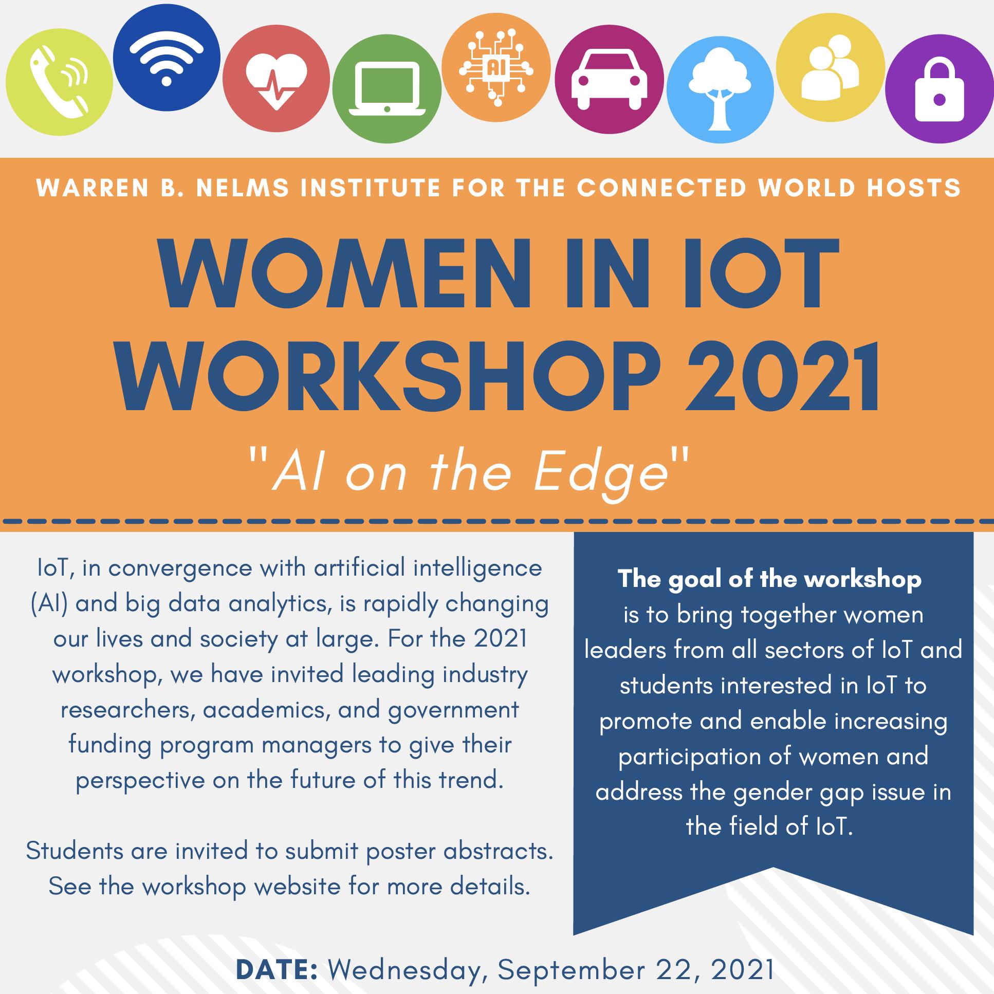 Women in IoT Workshop 2021